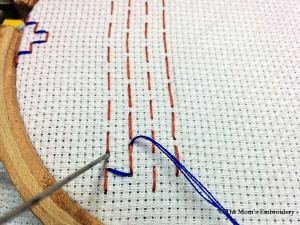 Japanese Darning Stitch