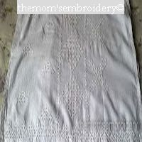 Kutch Embroidery in White outfit